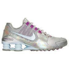 Women's Nike Shox Avenue Running Shoes Metallic Silver Many Sizes #W113