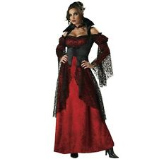 Sexy Vampire Halloween Costume Elite Collection Medieval Goth Dress Size: S, M