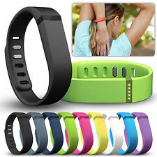 Large Size Replacement Wrist Band Wristband w/ Clasp For Fitbit Flex Bracelet