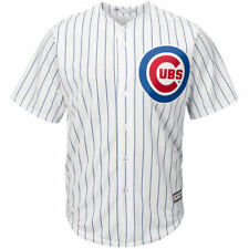 Chicago Cubs Majestic Youth Official Cool Base Jersey - White - MLB