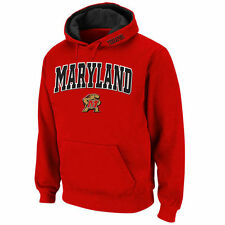 Maryland Terrapins Stadium Athletic Arch & Logo Pullover Hoodie - Red - NCAA