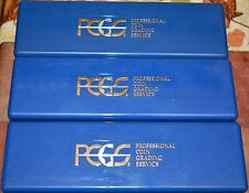 Lot of 3 PCGS Plastic Storage Box for 20 Slab Coin Holders