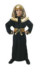 Egyptian Pharaoh Childrens Boys Fancy Dress Costume Outfit Child 7-9 Years