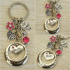 Personalised Gift keyrings for mum sister daughter cousin teacher - Gift for Her