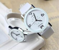 Women Men Hot Lover Stainless Steel Watches Analog Quartz Movement Wrist Watch