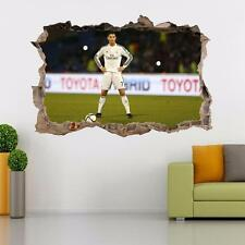 Cristiano Ronaldo Real Madrid Smashed Wall Decal Wall Sticker Art Mural H871