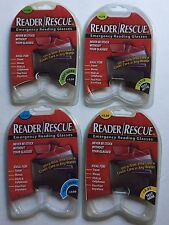 READER/RESCUE GLASSES-+1.50+1.75+2.00+2.25 ONLY $6.99 AND ALWAYS FREE SHIPPING!