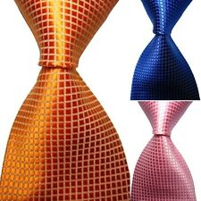 Party Formal Men Necktie Plaid Pattern Casual Neck Tie Clothes Accessories