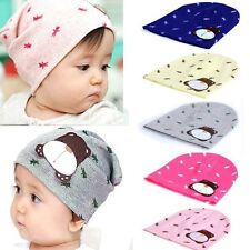 Color Autumn Winter Infant Baby Cute Warm Cap Toddler Beanie Hat Cartoon Dog