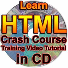 Learn HTML Crash Course Training Video Tutorial 5 Kompozer Web Page Coding CD