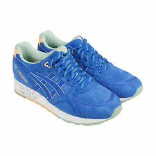 Asics Gel-Lyte Speed Mens Blue Suede Athletic Lace Up Running Shoes