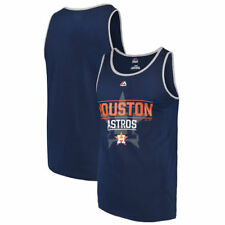 Houston Astros Majestic Home Field Advantage Tank Top - Navy - MLB