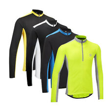 Tenn Mens Coolflo Long Sleeve Cycling Jersey - 4 Colour Options - RRP £29.99