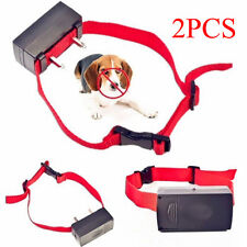 1/2 X Anti Bark Electronic No Barking Dog Training Shock Control Collar TrainerV