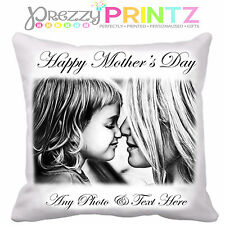 ❤ PERSONALISED MOTHERS DAY CUSHION ADD YOUR OWN TEXT & PHOTO  ❤