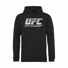 UFC Youth Chrome Pullover Hoodie - Black - MMA