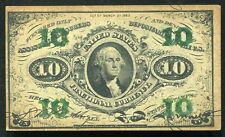 10 TEN CENTS THRID ISSUE FRACTIONAL CURRENCY NOTE UNCIRCULATED