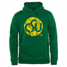 Colorado State Rams Old Main Collection 1974 Pullover Hoodie - Green - NCAA