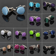 SUP 2Pcs Vintage Stainless Steel Mens Wedding Party Shirt Cuff Links Cufflinks