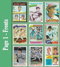 Carl Yastrzemski 1971 Topps #61 + other Topps, Donruss or Fleer cards - NM/MT