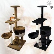 "51"" Cat Tree Condo Scratching Post Kitty Pet Play House Multi-level Tower"