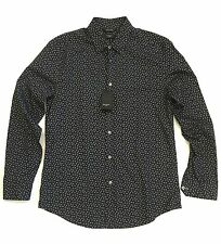 Paul Smith Byard Shirt, Navy Blue, Printed All Over, Tailored Fit, Cotton