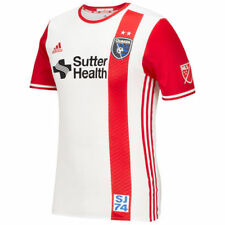 San Jose Earthquakes Adidas 2016 Men's Authentic Blank Jersey Jerseys - Red