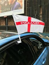 England Car Flag & Caps ST GEORGES FLAG FOOTBALL 6 NATIONS RUGBY CRICKET