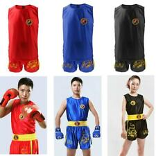 MMA Fighting Grappling Boxing Uniform Comfort Shorts Vest Suit for Training