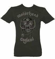 Official Men's Charcoal Motorhead England T-Shirt from Amplified