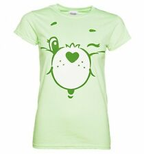 Official Women's Care Bears Good Luck Bear Face T-Shirt