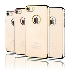 iPhone 7/7Plus/6S/6/5S Case, Electroplated Crystal CLEAR Tough Cover for Apple