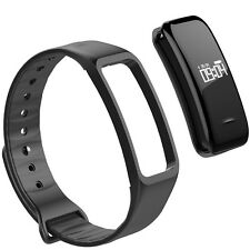 Bluetooth 4.0 Smart Wristband Support Blood Pressure / Heart Rate Monitor