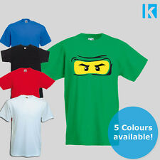 Ninjago Lego Movie Batman Retro T Shirt KIDS Girls Boys Top Age 1-13 New