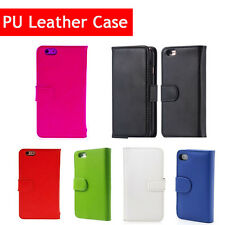 New Flip Wallet Leather Case Cover Stand For iPhone 6/6s Plus +Screen Protector