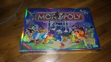 THE DISNEY EDITION OF MONOPOLY - NEW  SEALED BOX - INCLUDES 8 COLLECTIBLE  2001