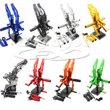 CNC Footpegs Rear Set Rearsets Foot Pegs For Honda GROM 2012 2013 2014 2015