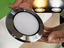 7W 2835SMD Led Recessed Ceiling Panel Down Lights Bulb White/Warm AC110-220V