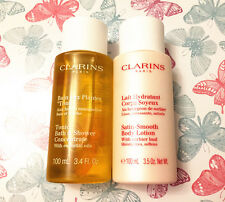 Clarins Tonic Bath & Shower Concentrate and Satin-Smooth Body Lotion