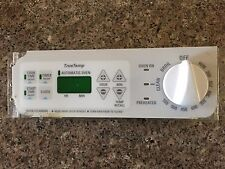 GE Range Stove Oven Electronic Control Board w/Faceplate White WB27T10230 w/Knob