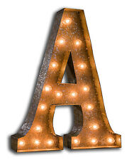 Vintage Marquee Lights Letter Marquee Sign