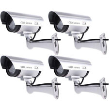New IR Bullet/Dome Fake Dummy Surveillance Security Camera CCTV & Record Light