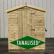 Overlap Garden shed Tanalised Heavy Duty Framework Limited Stock Budget Shed