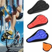 New Cycling Bike Bicycle 3D Silicone Saddle Seat Cover Gel Cushion Soft Pad Hot