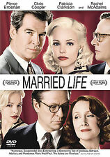 MARRIED LIFE DVD Rachel McAdams, Chris Cooper, Pierce Brosnan BRAND NEW Sealed