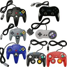 x1 x2 Gaming Controller Pad Joystick For Nintendo N64/SNES/Wii/Gamecube GC Wii