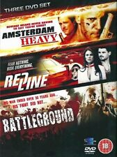 Action Movies Collection - Amsterdam Heavy / Red Line / Battleground (DVD, 2012,