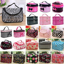 Travel Organizer Toiletry Cosmetic Make Up Womens Holder Case Bag Handing Pouch