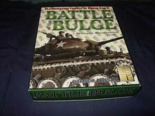 Avalanche Press - BATTLE OF THE BULGE  (UNPUNCHED)  Panzer Grenadier Game -