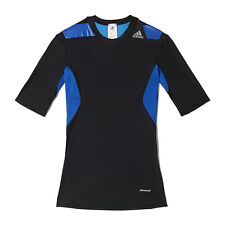 Adidas Mens Techfit POWER Short Sleeve Compression Top